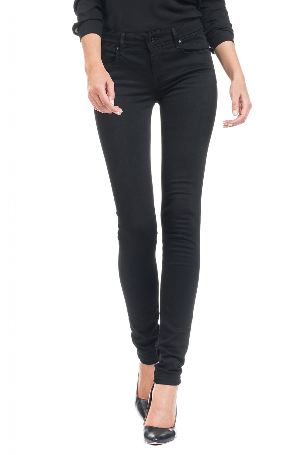 True Black Colette Jeans very slim leg