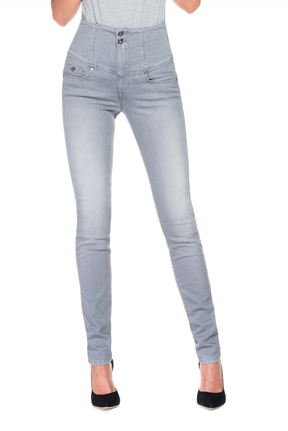 Slimming Diva jeans with Emana fiber and slim leg