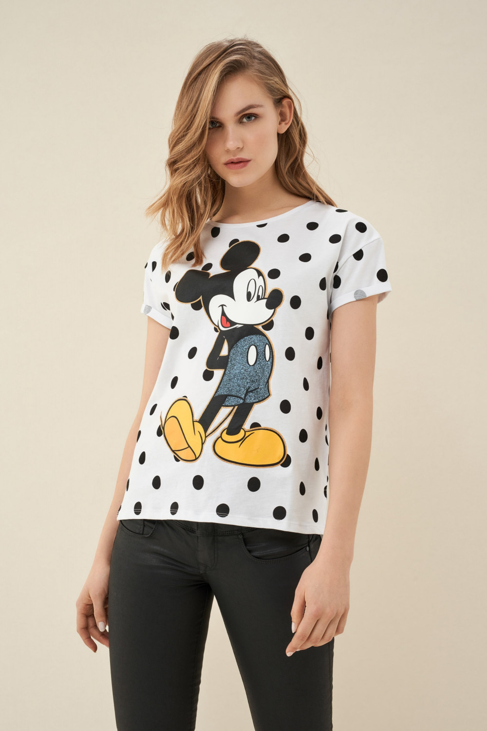 Mickey with balls t-shirt